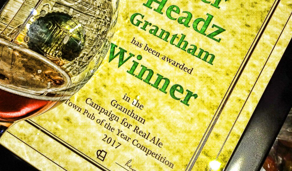 Grantham BeerHeadZ CAMRA Town Pub of the Year