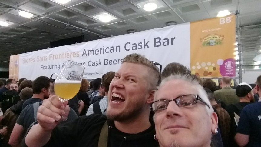 American bar at GBBF