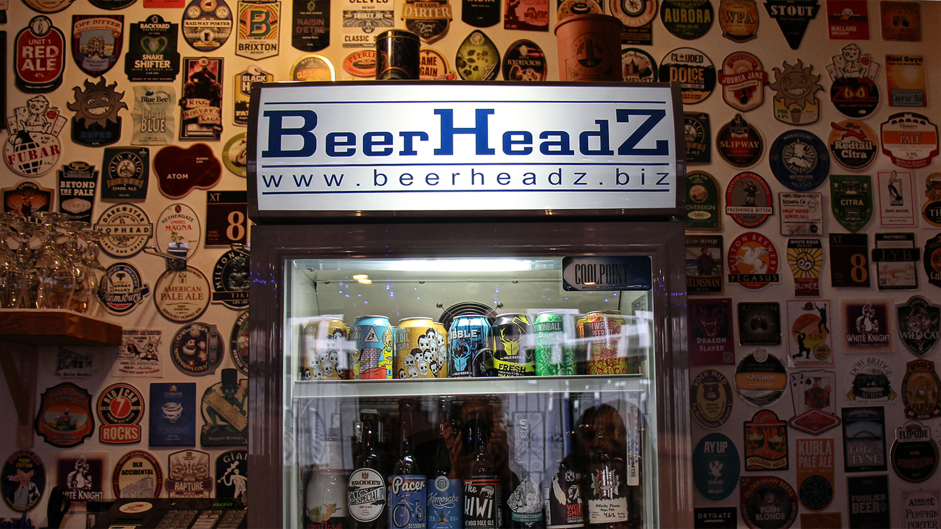 BeerHeadZ Retford fridge