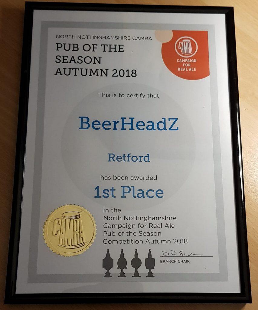 Retford wins again