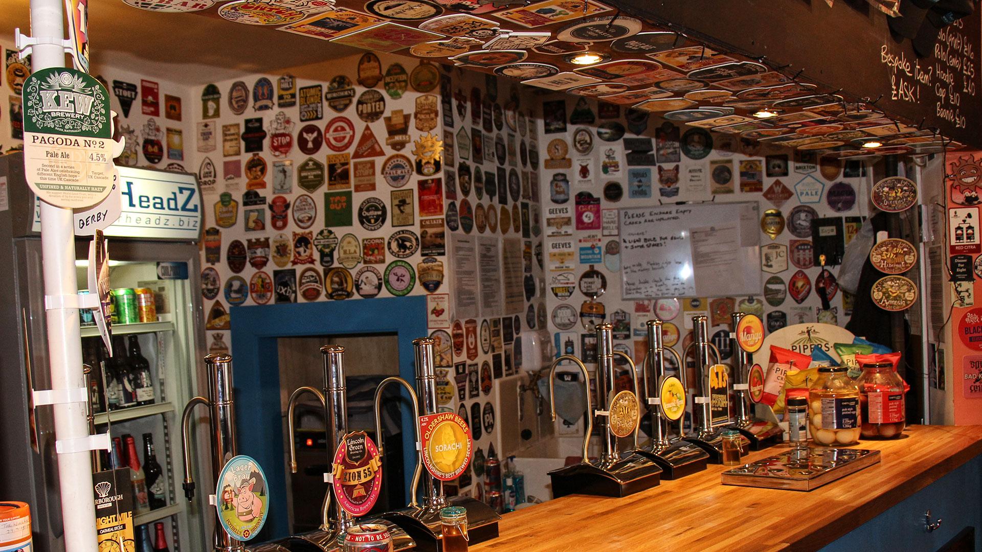 BeerHeadZ Retford bar
