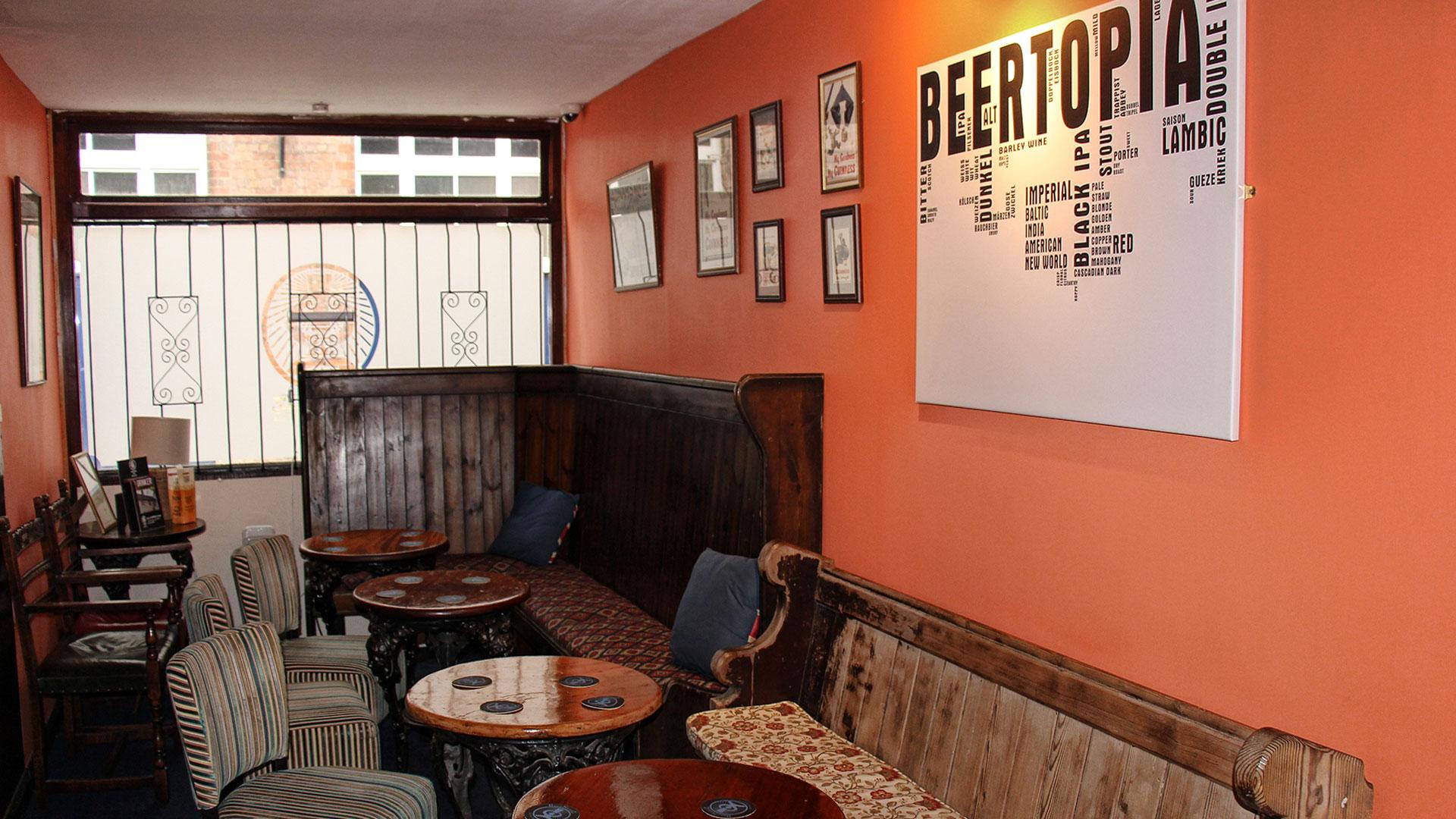 BeerHeadZ Retford settle