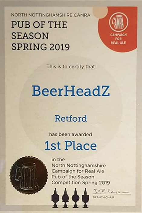 Another win for Retford
