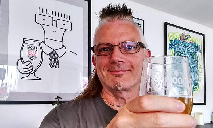Phil visits Moor brewery