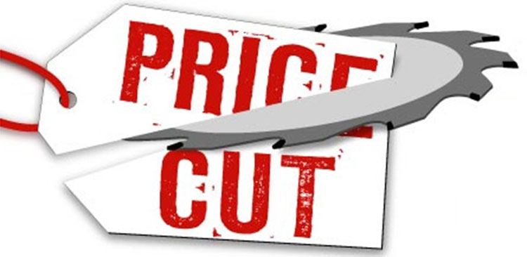Price cut on beers